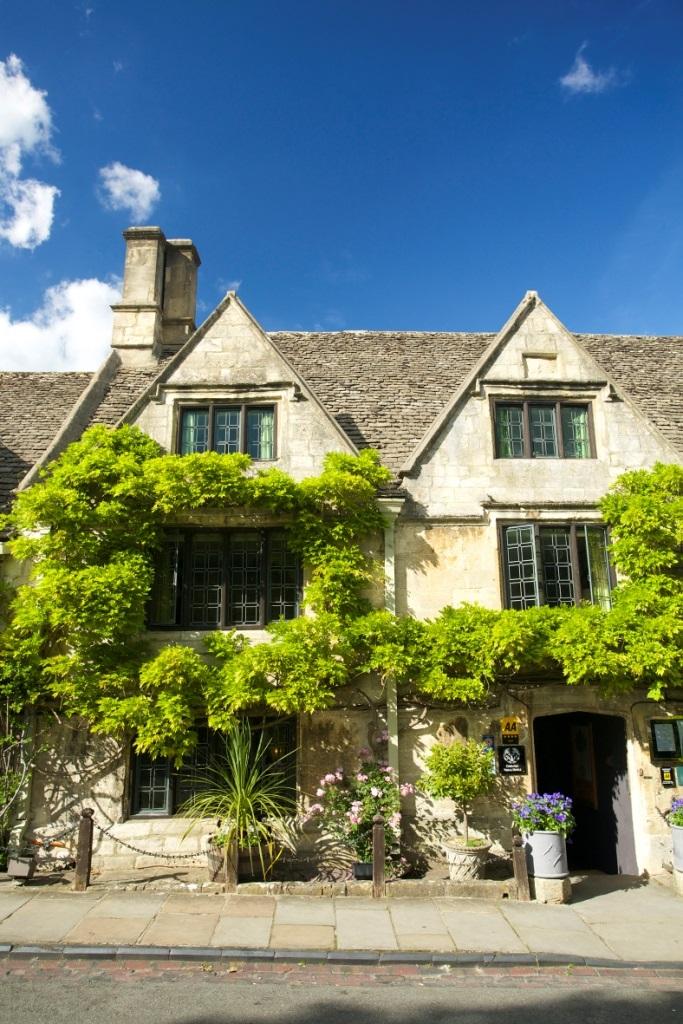 3- dagen Romantiek in een Engelse Inn Cotwolds     afreis dagelijks 2