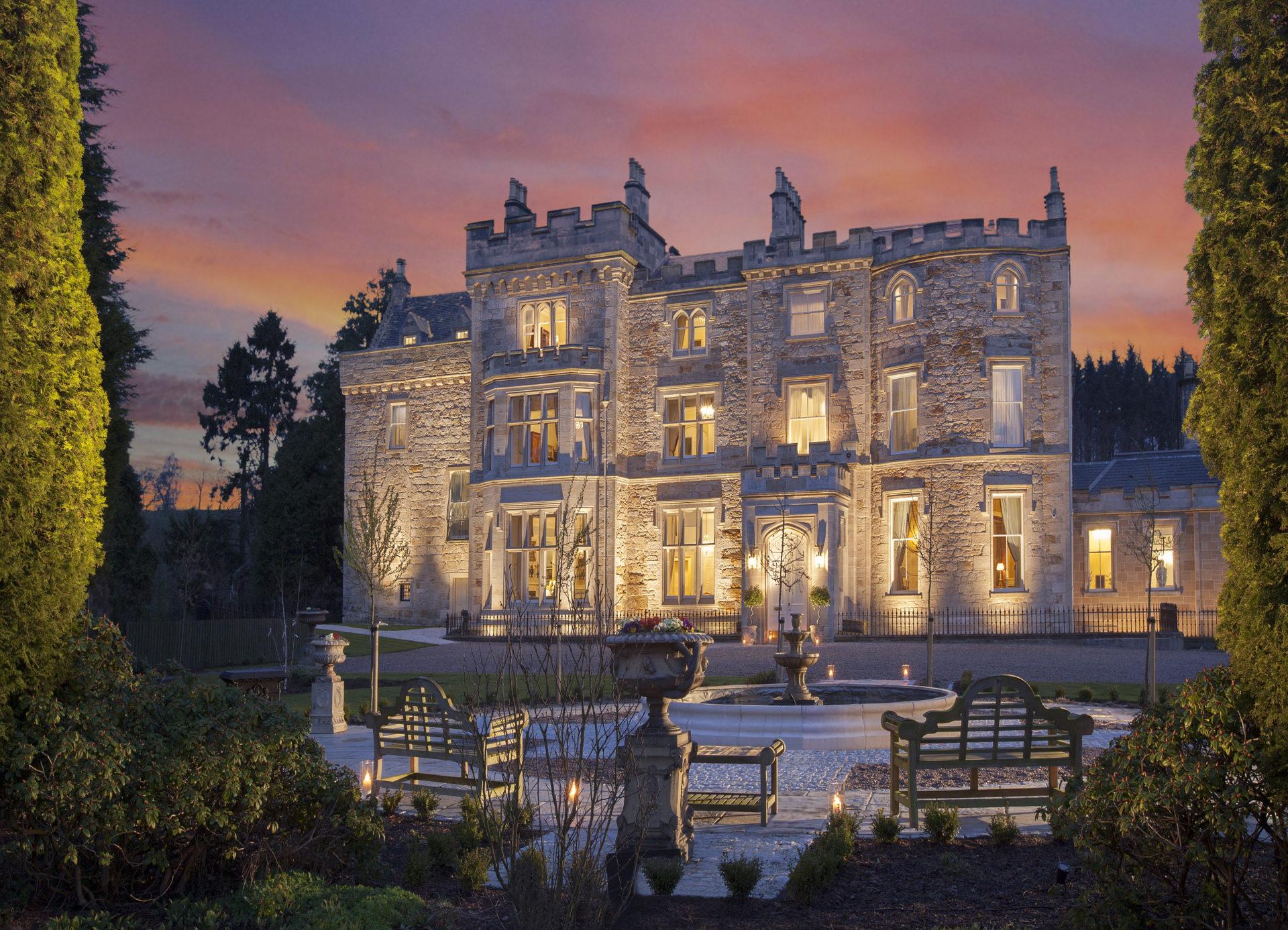 5-dagen Romantiek in een Schots kasteel 5*    afreis dagelijks 2